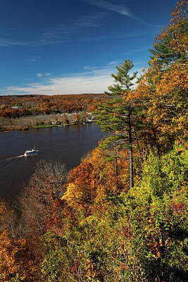 Photograph - Autumn On The Connecticut River by Karol Livote