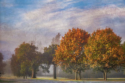 Sports Royalty-Free and Rights-Managed Images - Autumn on the Golf Course by Chris Fletcher