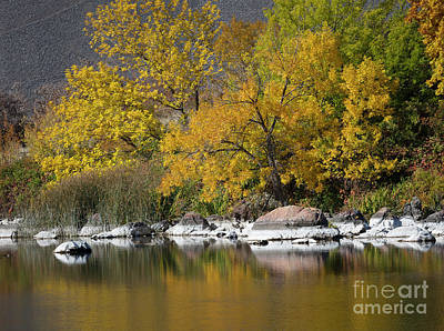 Photograph - Autumn On The Snake River by Idaho Scenic Images Linda Lantzy