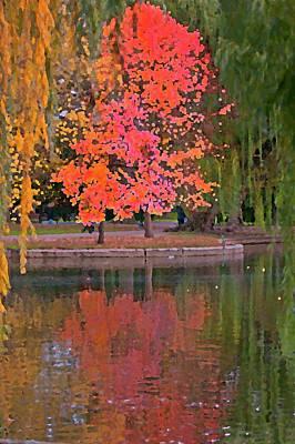 Photograph - Autumn Paint by Paul Mangold