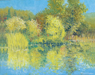 Painting - Autumn Pond by Douglas Castleman