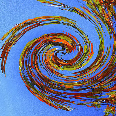 Digital Art - Autumn Reflection by Sipporah Art and Illustration