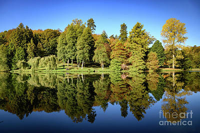 Photograph - Autumn Reflections by Colin Rayner