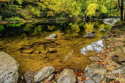 Photograph - Autumn Reflections Cranberry River by Thomas R Fletcher
