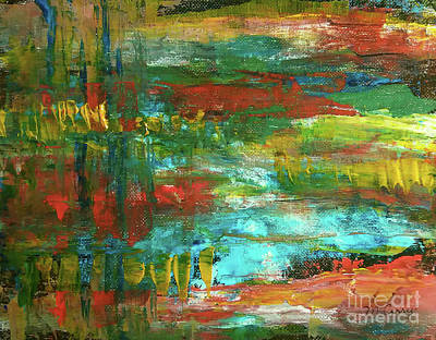 Painting - Autumn Reflections by Michelle Curry