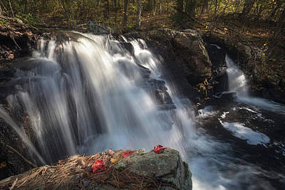 Photograph - Autumn - Secret Waterfall 2 by Brian Hale