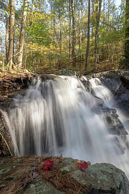 Photograph - Autumn - Secret Waterfall 3 by Brian Hale