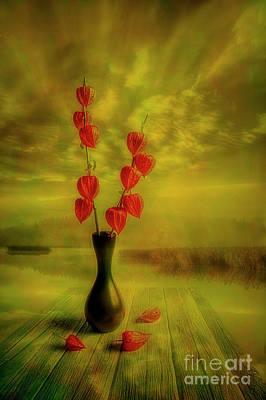 Impressionism Mixed Media - Autumn still life 3 by Veikko Suikkanen