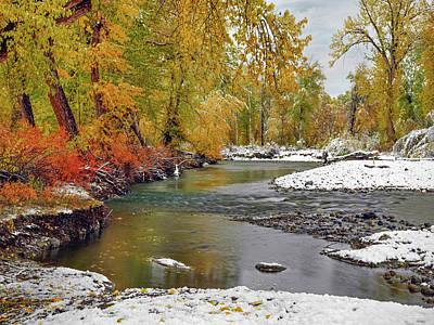 Photograph - Autumn Stillness by Leland D Howard