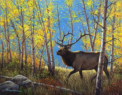 Painting - Autumn Stroll by Kim Lockman