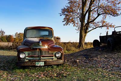Photograph - Autumn Vintage by Exploration Project