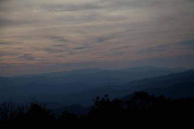 Photograph - Autumn Vista Smoky Mountains by David Chasey