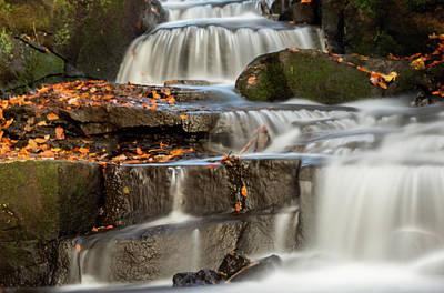 Photograph - Autumn Waterfall by Scott Lyons