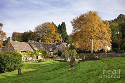 Photograph - Autumnal Snowshill by Tim Gainey