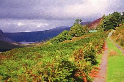 Photograph - Autumnal Walk In Wicklow Hills. Ireland by Jenny Rainbow