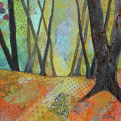 Painting Royalty Free Images - Autumns Arrival II Royalty-Free Image by Shadia Derbyshire