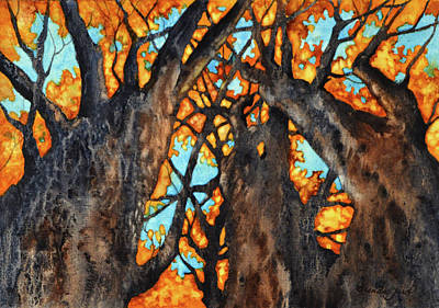Painting - Autumn's Sway by Brenda Jiral