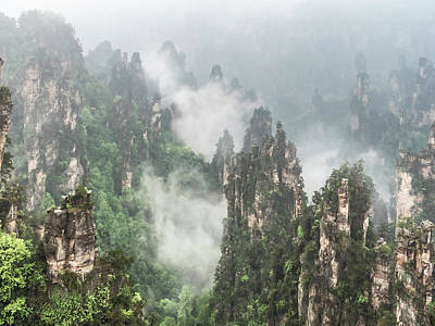 Photograph - Avatar Mountain,china by Usha Peddamatham