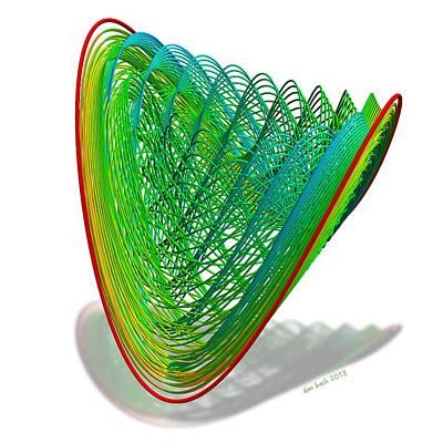 Digital Art - Average Smoothing Bundles by Dan Bach