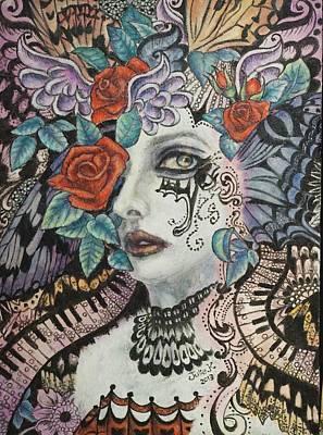 Fantasy Painting - Awakening by Julie Kitamura