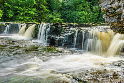 Photograph - Aysgarth Upper Falls, Yorkshire Dales by David Ross