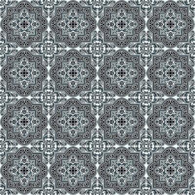 Minimalist Movie Quotes - Azulejo, Geometric Pattern - 33 by AM FineArtPrints