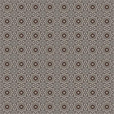 Aretha Franklin - Azulejo, Geometric Pattern - 39 by AM FineArtPrints