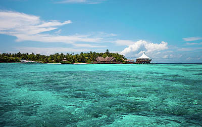 Photograph - Azure Water Of Indian Ocean by Jenny Rainbow
