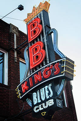 Photograph - B. B. King's by Bud Simpson