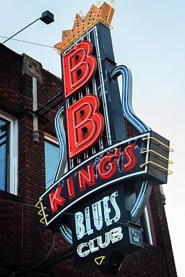 Photograph - B. B. King's by Bud Simpson