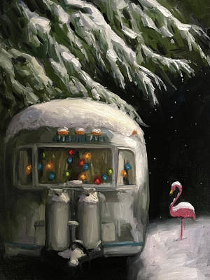 Painting - Baby, It's Cold Outside by Elizabeth Jose