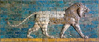 Photograph - Babylonian Lion 01 by Weston Westmoreland