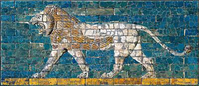 Photograph - Babylonian Lion 02 by Weston Westmoreland
