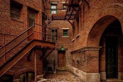 Photograph - Back Alley Entrances  -  Backalleyentrances186176 by Frank J Benz