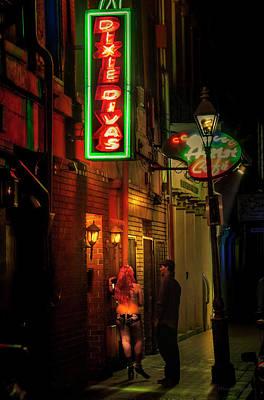 Tonite Wall Art - Photograph - Back Street Girl by Micah Offman