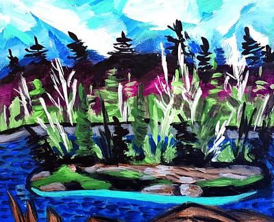 Painting - Backdoor by Nikki Dalton