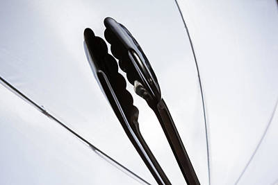 Photograph - Backlit Tongs by Jeanette Fellows
