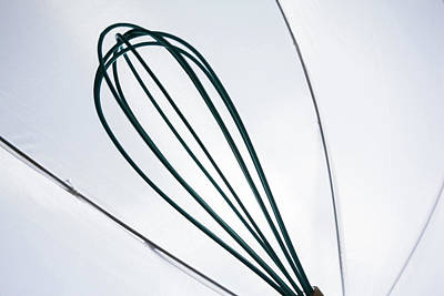 Photograph - Backlit Whisk by Jeanette Fellows
