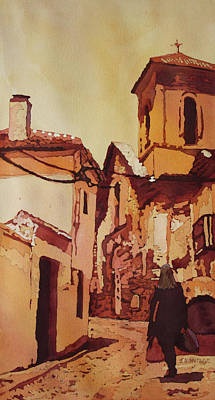 Painting - Backstreet Granada by Jenny Armitage