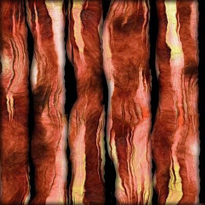 Digital Art - Bacon by Cindy Boyd