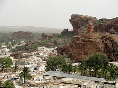 Karnataka Photograph - Badami Karnataka by Lissillour