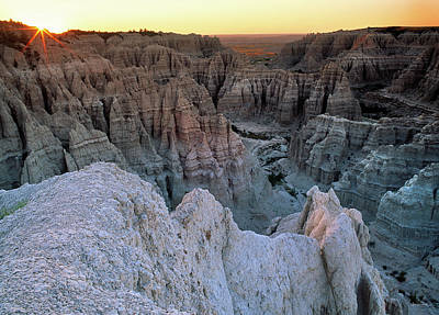 Photograph - Badlands by Leland D Howard