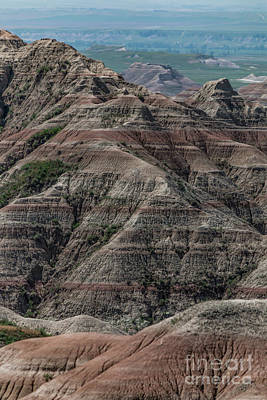 Photograph - Badlands Portrait by Sheila Skogen