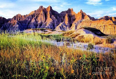 Photograph - Badlands by Scott Kemper