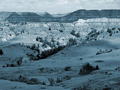 Photograph - Badlands Shadows And Sunlight by Cris Fulton