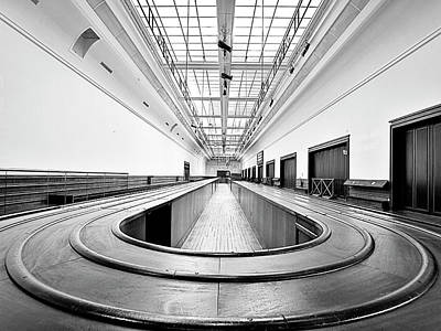 Photograph - Baggage Conveyor by Dominic Piperata