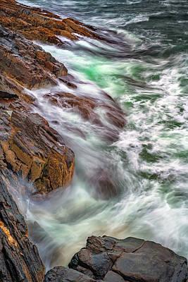 Photograph - Bailey Island Awash by Rick Berk