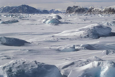 Photograph - Baird Inlet, Nunavut, Canada by Jerry Kobalenko