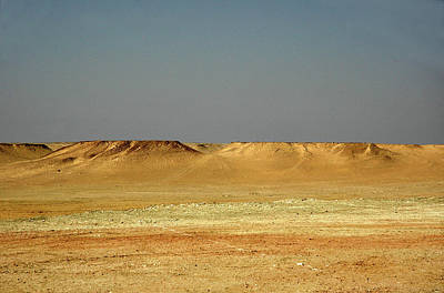 Photograph - Baked Sahara Desert by Mark Duehmig