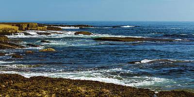 Photograph - Baker Island Cliffs by Stefan Mazzola